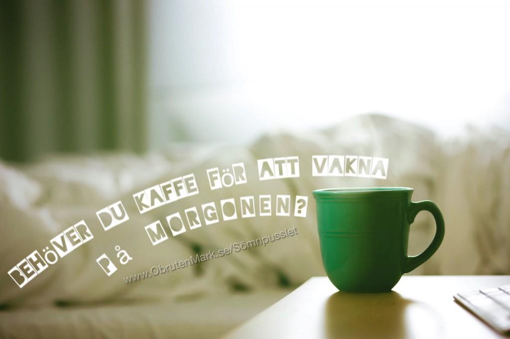 vaknar trött