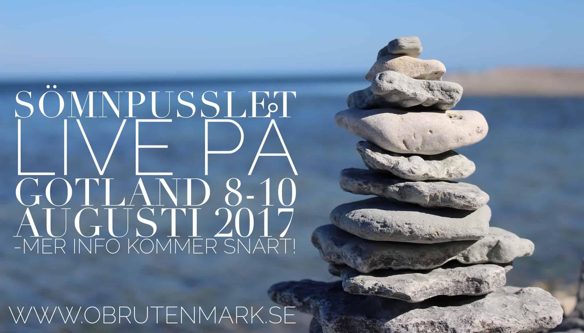 Sömnpusslet Åker Till Gotland I Sommar!